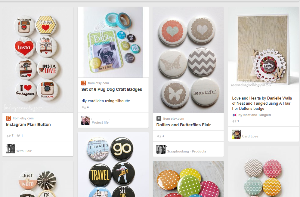 http://www.pinterest.com/search/pins/?q=flair%20badges%20for%20scrapbook