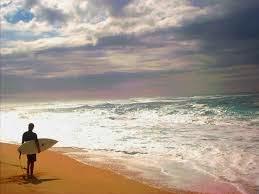 pantai di Bali untuk surfing