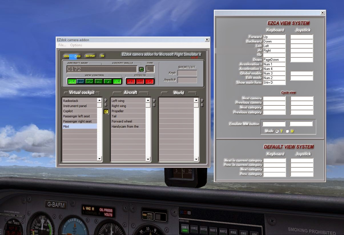 how to get acceleration fsx