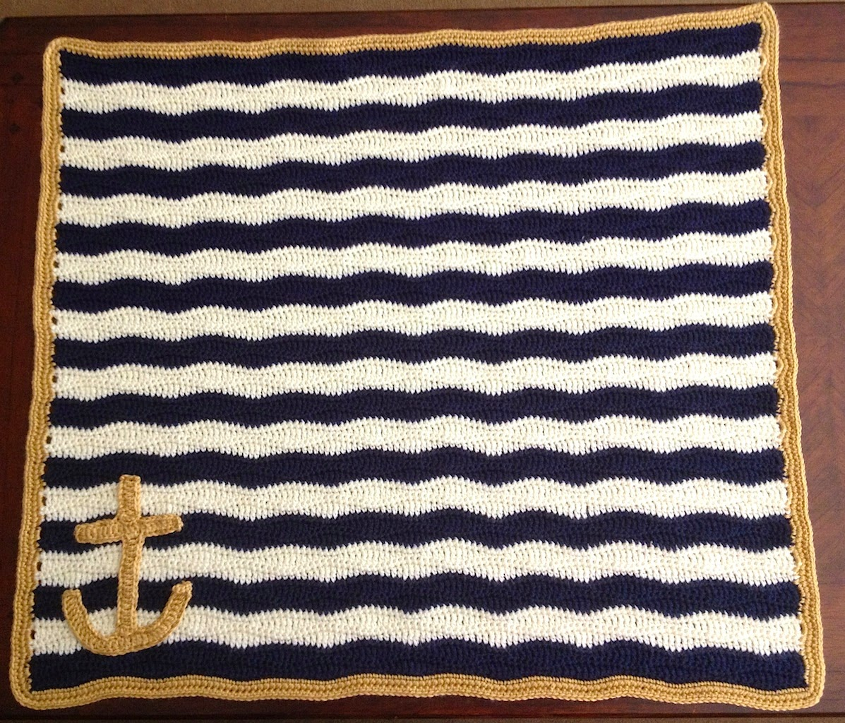 Illuminate Crochet: Nautical Baby Blanket