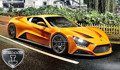 Koleksi Foto dan Gambar Mobil Sport Zenvo ST1 Terbaru