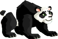 imagen de panda de monster legends