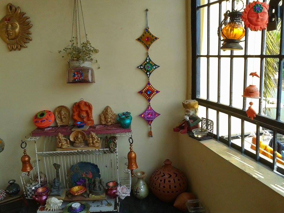 Design decor disha an indian design decor blog for How to make diwali decorations at home