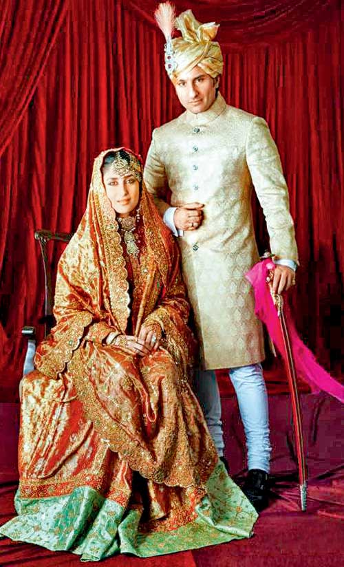 Actress Website The Big Fat Indian Weddings Of 2012 Kareena Kapoor Amp Saif Ali Khan Wedding Pic