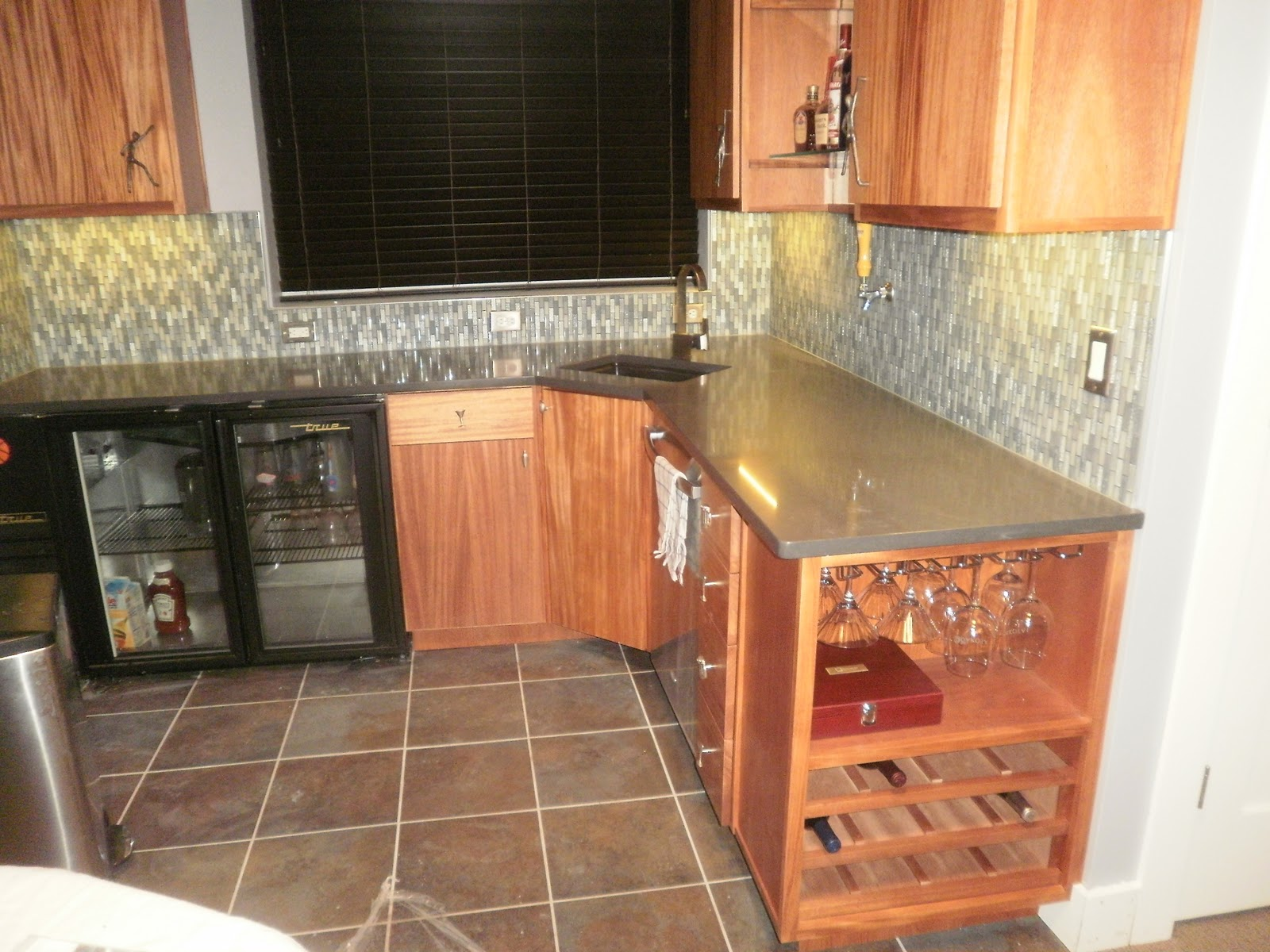 Integrity installations a division of front for Man cave kitchen ideas