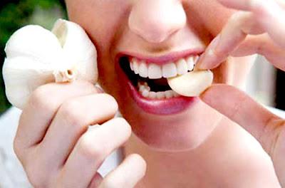 eat garlic