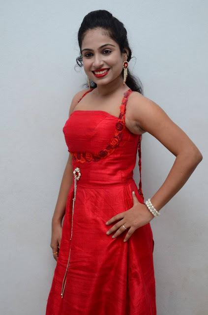 Vrushali Stills At Srimathi Bangaram Audio Launch