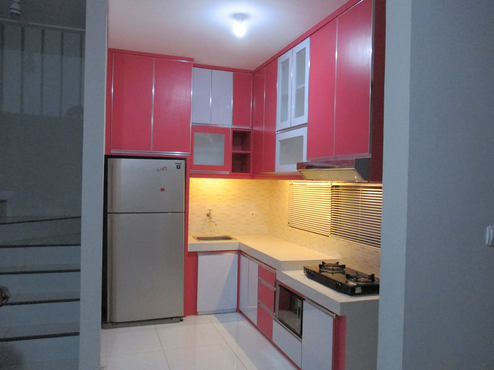 Kitchen set Bapak Totok at Jl aselih Lanata 2 Residance Jagakarsa