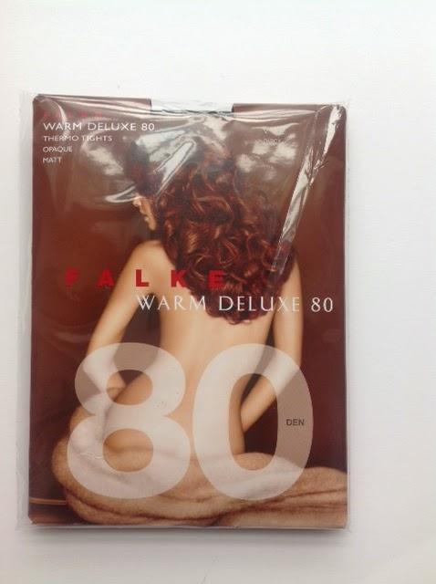 Ladies 1 Pair Falke Warm Deluxe 80 Denier Thermal Tights