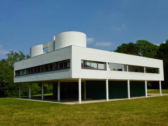 Historia del arte temas im genes y comentario le corbusier villa saboya - Le corbusier casas ...