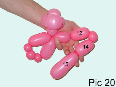 how to make a balloon monkey step by step