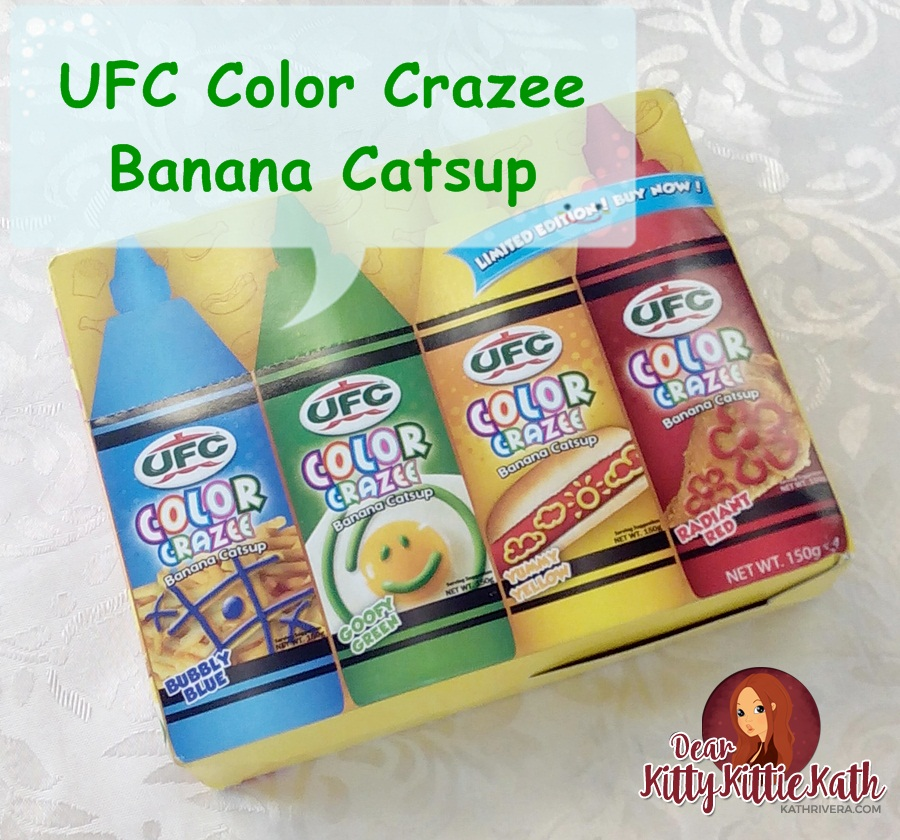 Ufc Color Crazee Catsup For More Fun And Colorful Family Meal Time