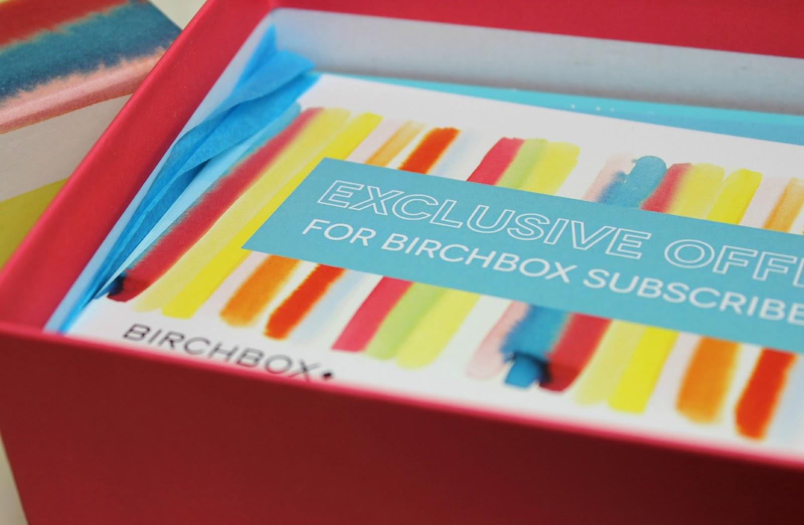 A picture of Birchbox UK March 2015 Habitat Box