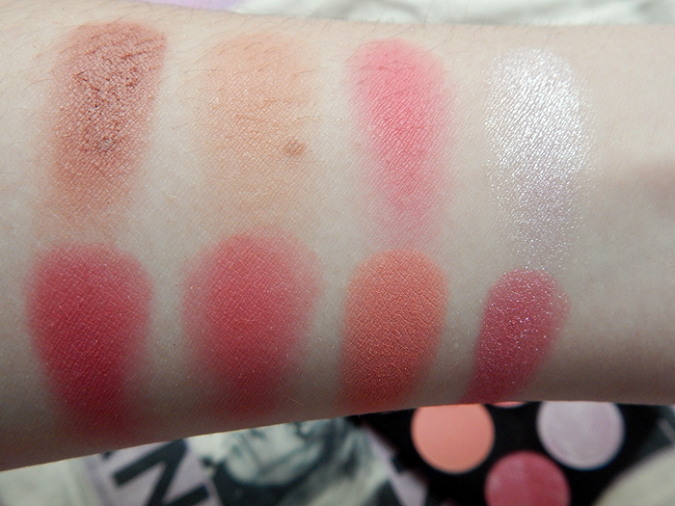 Makeup Revolution Sugar and Spice Ultimate Blush Palette