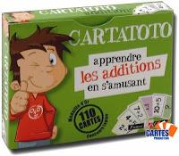 apprendre les additions à 5 ans avec Cartatoto les additions
