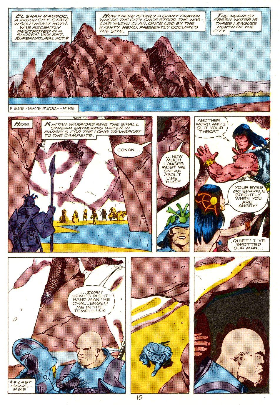 Conan the Barbarian (1970) Issue #207 #219 - English 12