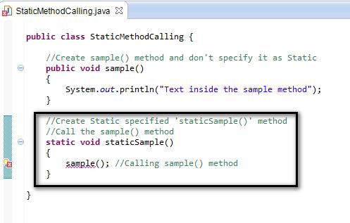 SeleniumByArun Tutorials143 87 static methods can – Method of Statement Sample