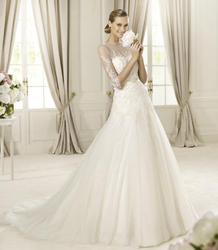 Romantic Wedding Dresses: Annie's Fashion Break: Romantic 2013 Wedding Dresses From