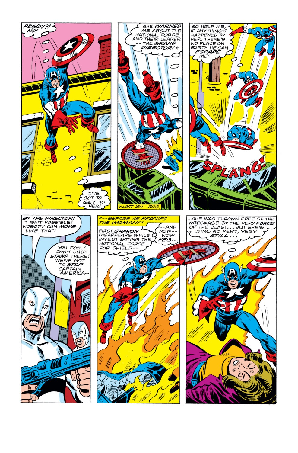 Captain America (1968) Issue #232 #147 - English 3