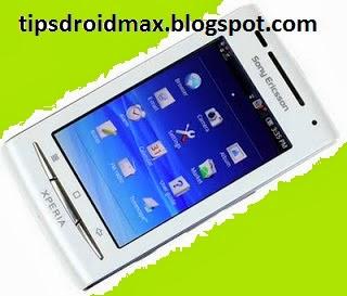 Cara Root Sony Ericsson X8