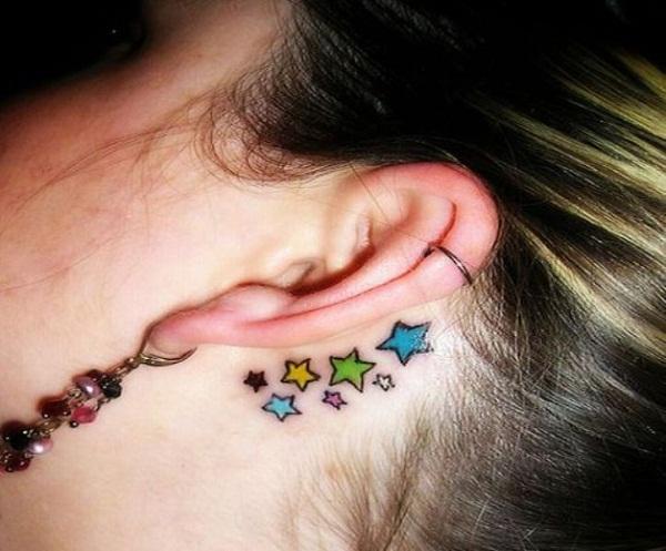 Melhor tatuagem para fazer atrás da orelha 2015