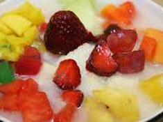 Resep menu buka puasa es sop buah spesial praktis, mudah, nikmat, legit, sedap