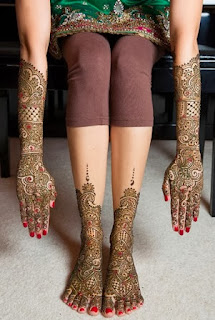 New Indian Bridal Mehndi Designs 2014