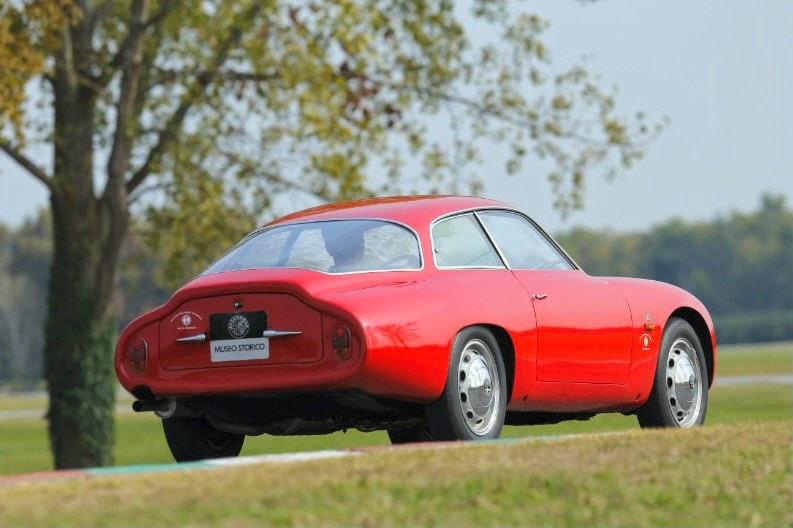 """1960 - Giulietta SZ """"Coda Tonda"""""""