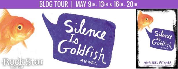 Silence is Goldfish Tour + Giveaway thru 5/22