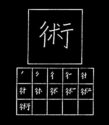kanji seni