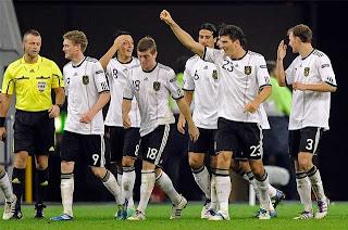 Alemania confirma dos amistosos previos a la Eurocopa 2012