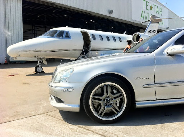mercedes jet luxury