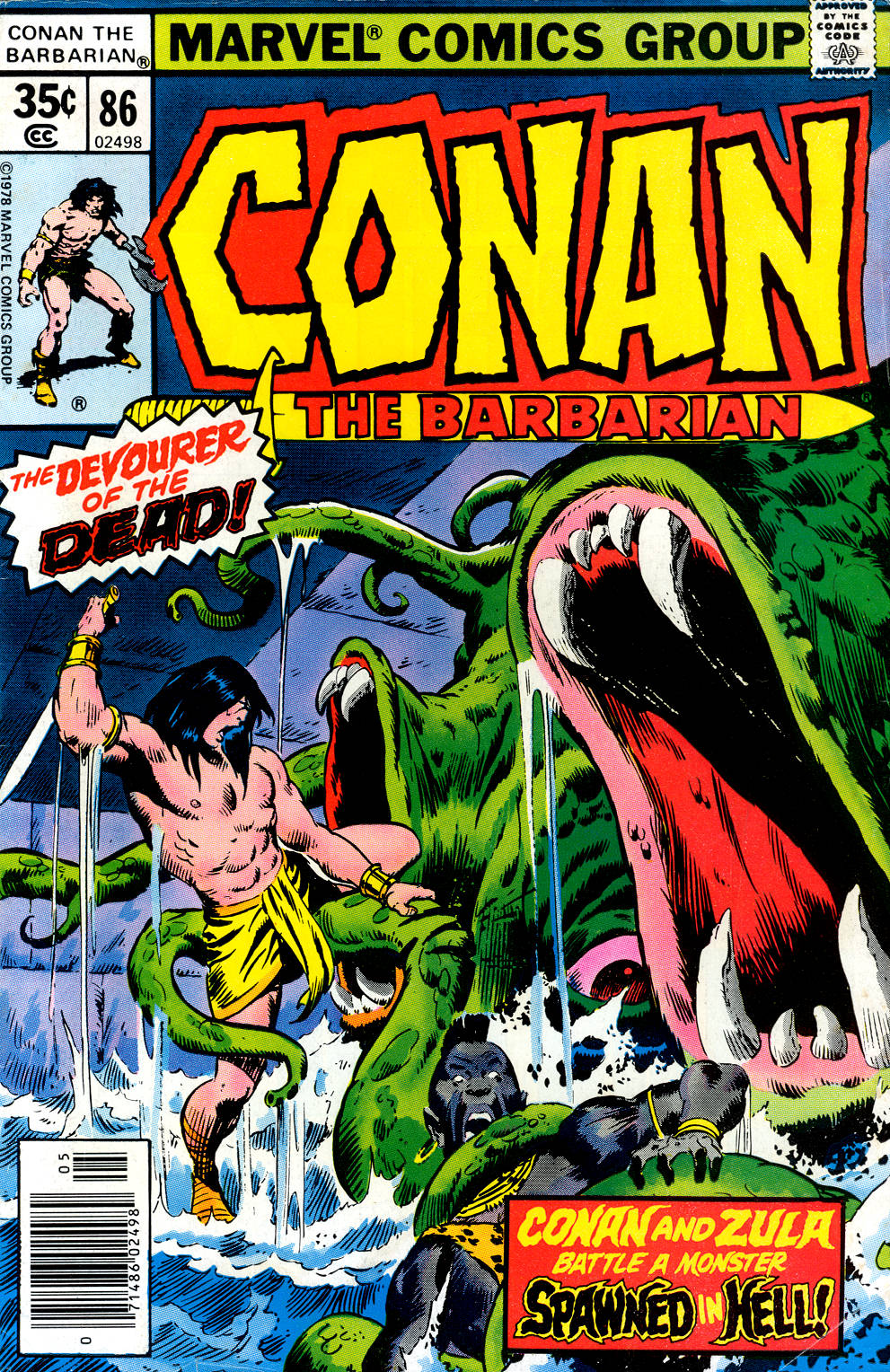 Conan the Barbarian (1970) Issue #86 #98 - English 1