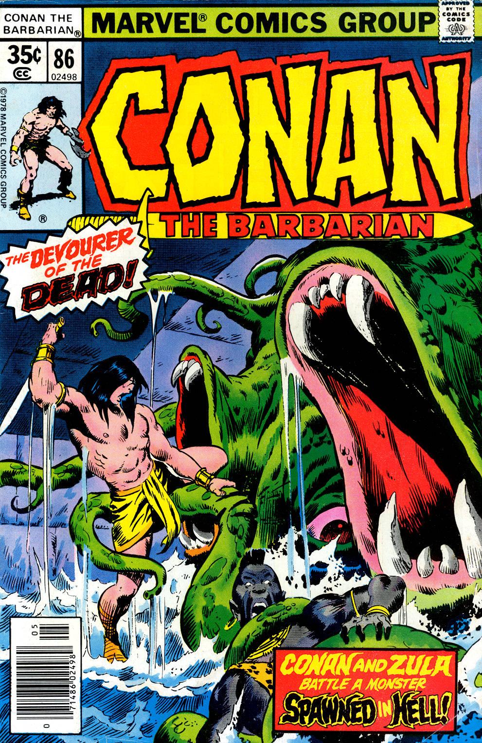 Conan the Barbarian (1970) 86 Page 1