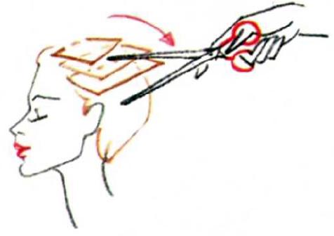Короткая стрижка с объемной макушкой