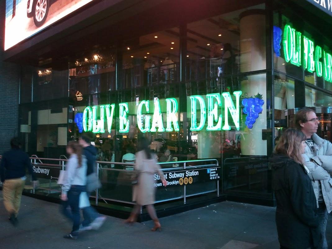 Olive Garden Restaurante Comida Italiana Dicas De Ny