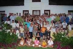 Familie tydens 2008 Reunie