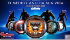 Promoção Melhor Ano da sua Vida Gillette e Vingadores