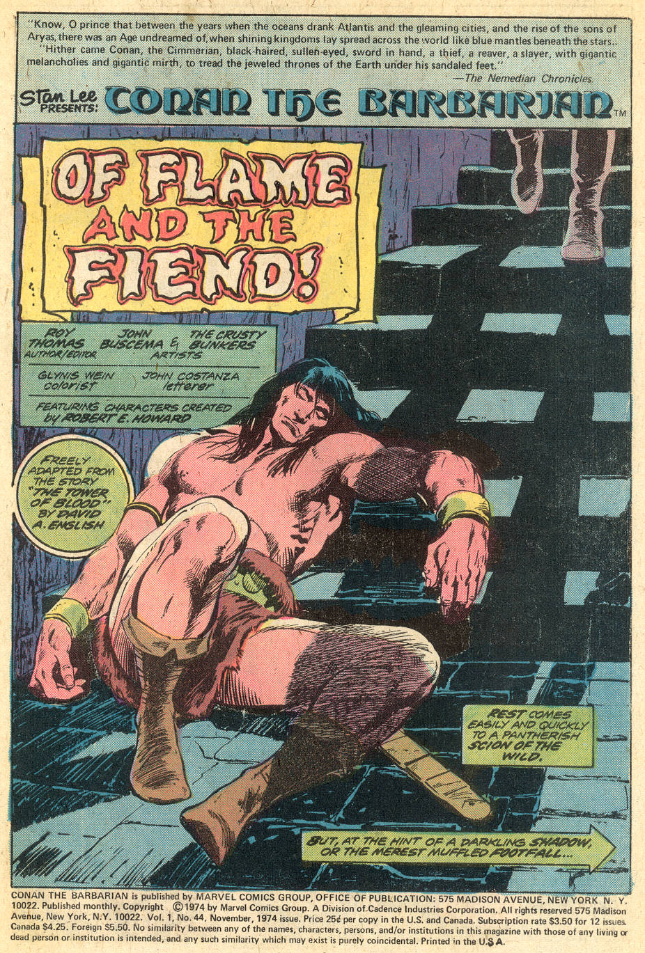 Conan the Barbarian (1970) Issue #44 #56 - English 2