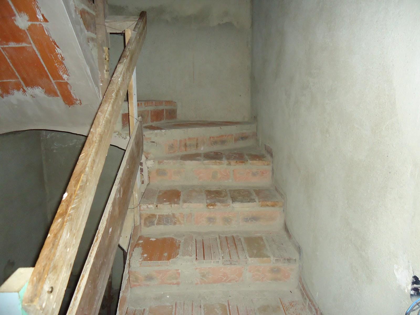 Vuelta de escalera compensada tipo b veda quiero - Escaleras de ladrillo ...