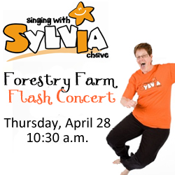 sylvia's forestry farm flash concert