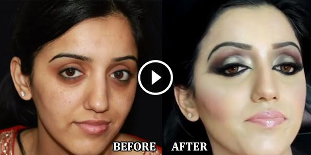 Full Bridal Makeup Step By Step : Pakistani Bridal Makeup - Full Tutorial Step By Step - B ...