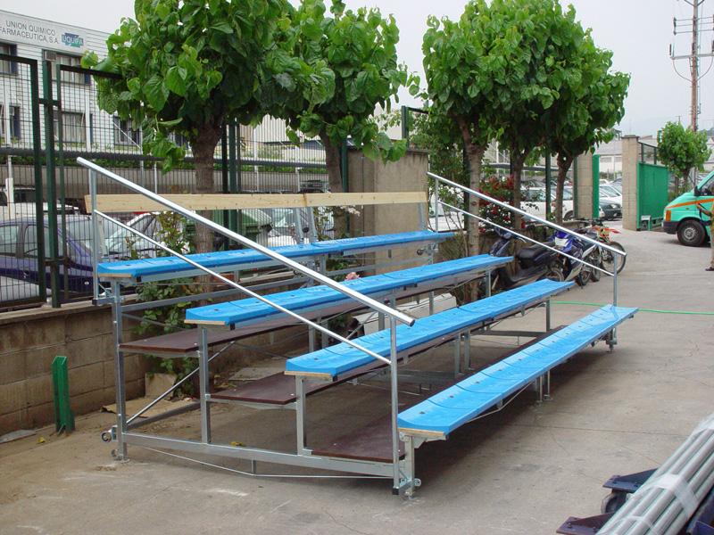 Prodespa industrial gradas y tribunas for Tipos de gradas
