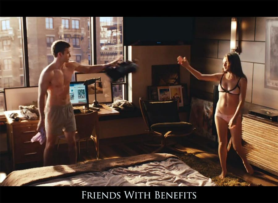 Friends with benefits real