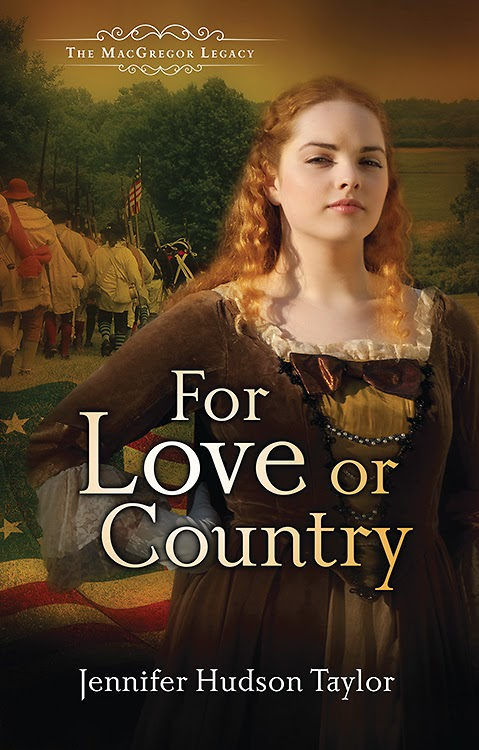 book review of For Love Or Country by Jennifer Hudson Taylor (Abingdon Press) by papertapepins