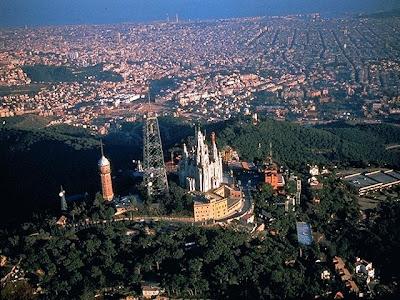 La Montaña del Tibidabo y las vistas de Barcelona