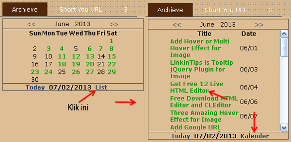 Blogger-AJAX-Archive-Calendar