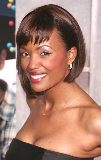 African American Bob Hairstyles with Bangs