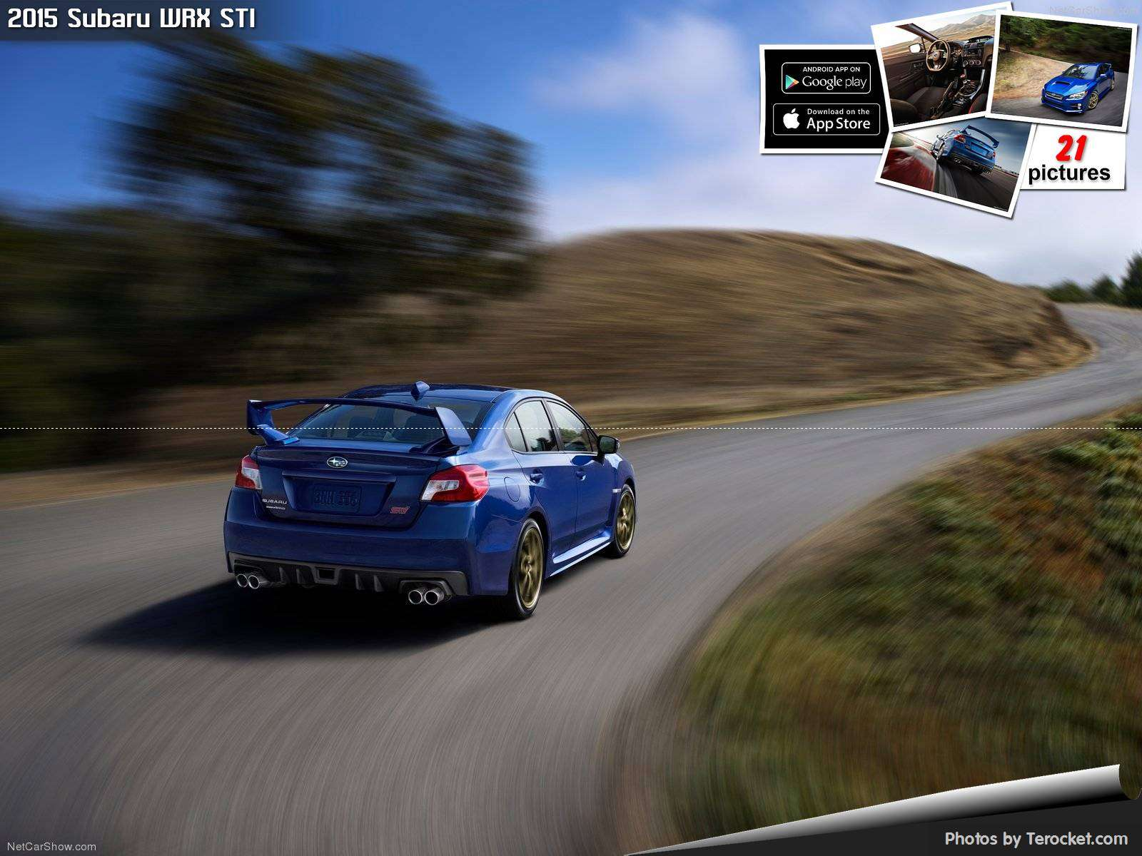 Hình ảnh xe ô tô Subaru WRX STI 2015 & nội ngoại thất