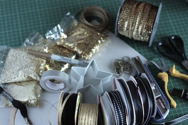Ro Guaraz · navidad compartida · adorno para el arbolito · 04 · materiales